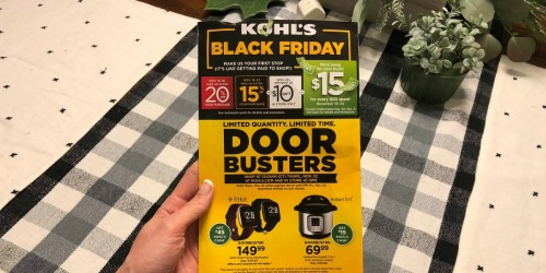 Possible $10 Off $10+ Kohl's Purchase Coupon Valid 11/22-11/23 (Check Your Mailbox)