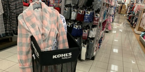 Women's Plush Robes Only $19.54 at Kohl's (Regularly $46)