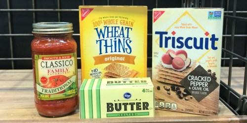 Kroger & Affiliate Shoppers: 99¢ Classico Pasta Sauce, Nabisco Crackers, & More