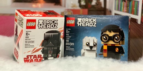 LEGO BrickHeadz as Low as $5.99 (Regularly $10) – Star Wars, Harry Potter & More
