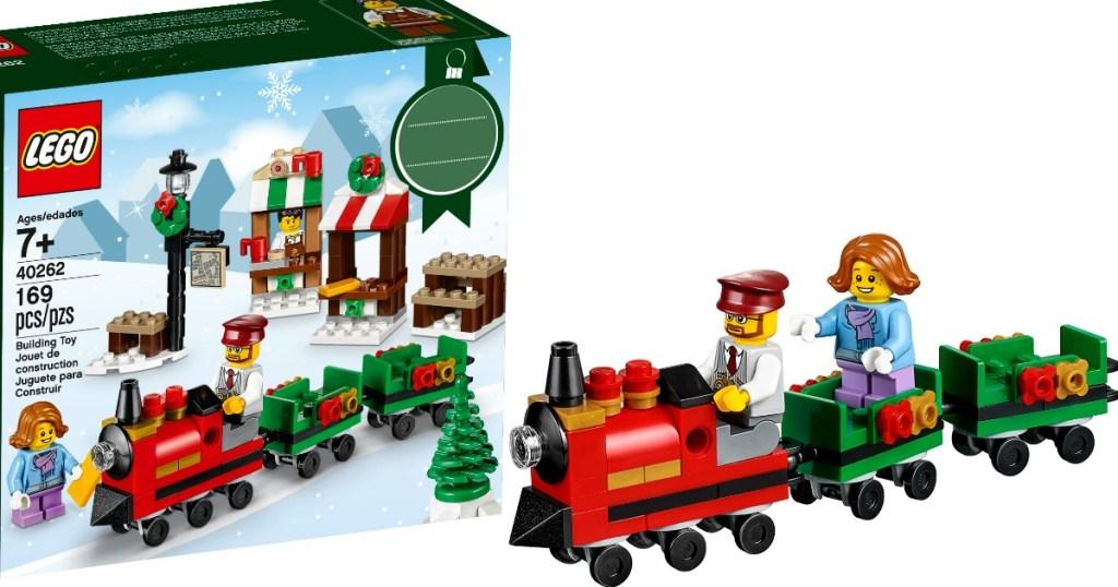Lego Christmas.Lego Christmas Train Ride Set Only 6 99 At Walmart Com