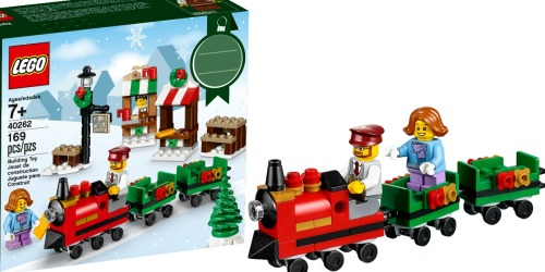 LEGO Christmas Train Ride Set Only $6.99 at Walmart.com