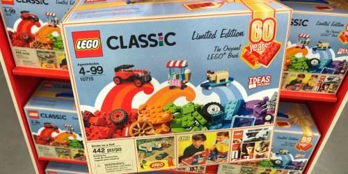 LEGO Classic Bricks On A Roll 60th Anniversary Set Just $20 (Regularly $30)