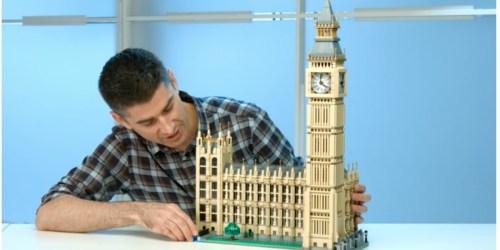LEGO Creator Expert Big Ben Building Kit Only $199.99 Shipped (Regularly $250)