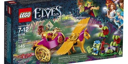 LEGO Elves Azari & The Goblin Forest Escape Set Just $9.99 Shipped (Regularly $20)