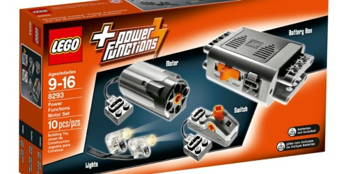 LEGO Technic Power Functions Motor Set Only $19.99 Shipped