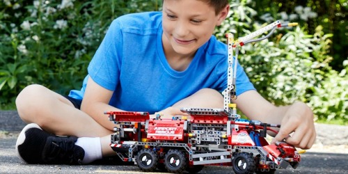 LEGO Technic Airport Rescue Vehicle Building Kit Only $62.99 Shipped (Regularly $100)