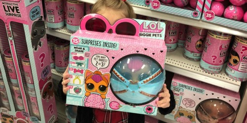 L.O.L Surprise Biggie Pets Neon Kitty Only $22.49 at Target (Regularly $40)