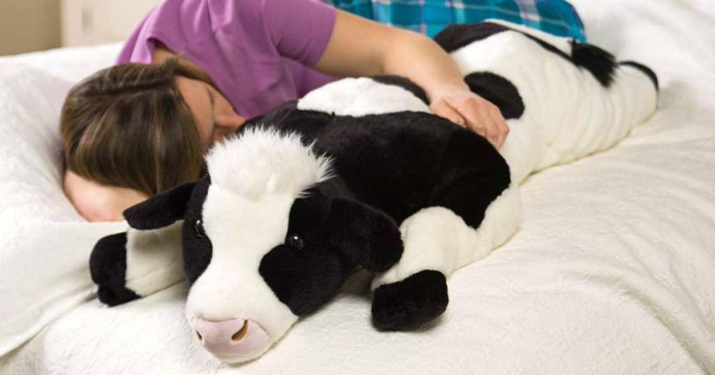 Cow Body Pillow