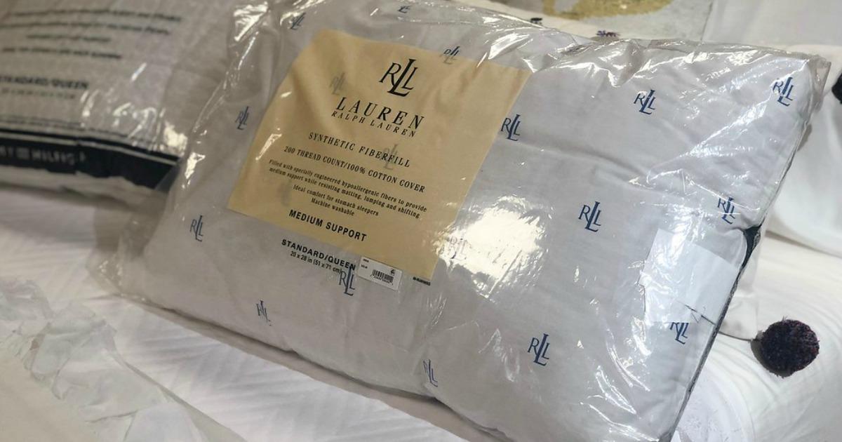 macys black friday 2018 ad deals – Ralph Lauren pillow
