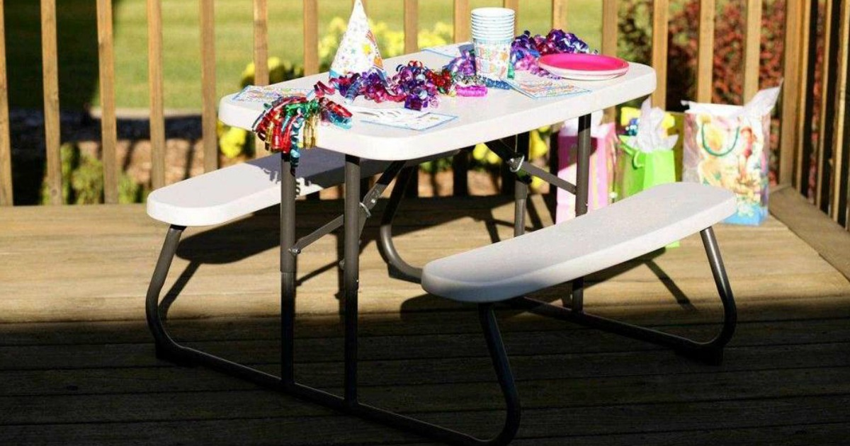 Lifetime Kids Picnic Table Just 44 Shipped Awesome Reviews Hip2save
