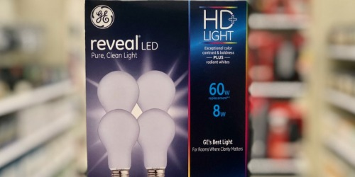 50% Off GE Reveal Light Bulbs at Target (In-Store & Online)