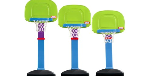 Kohl's: Little Tikes Basketball Hoop Set & Fisher-Price Ride-On Vehicles Only $19.99 Each (Regularly $30+)