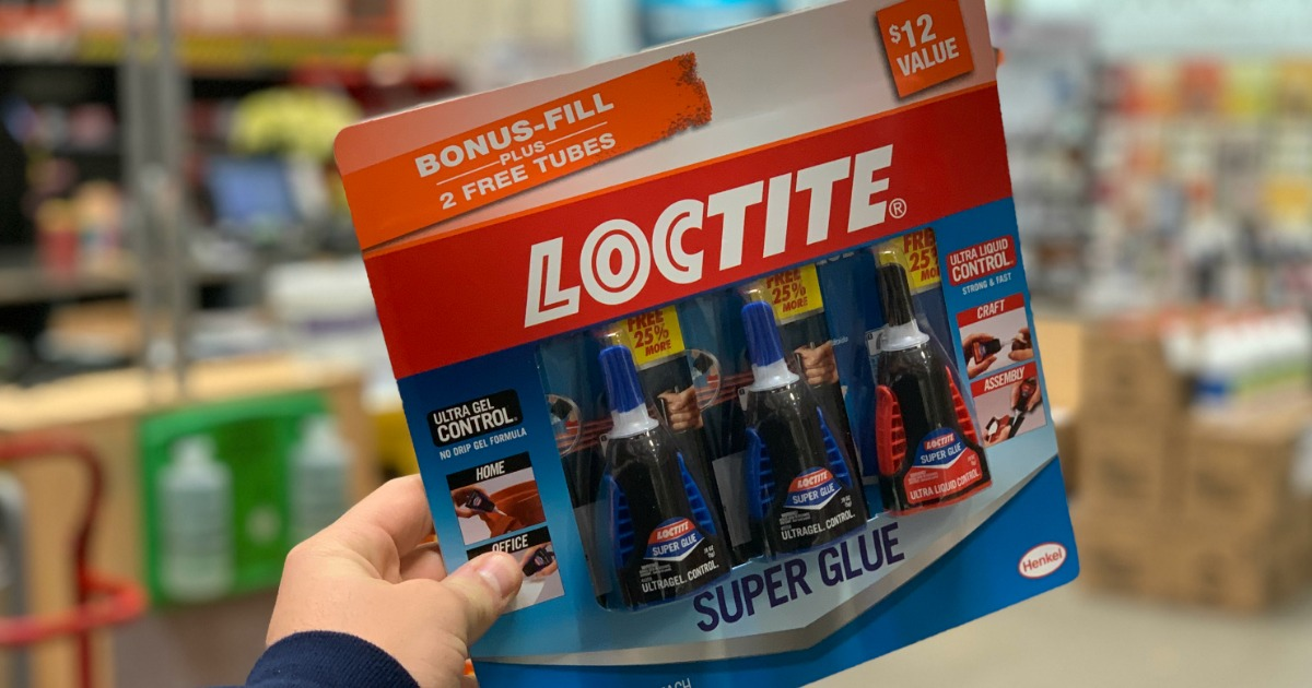 loctite super glue 3 pack just at home depot 12. Black Bedroom Furniture Sets. Home Design Ideas