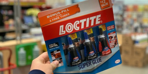 Loctite Super Glue 3-Pack Just $4.88 at Home Depot ($12 Value)