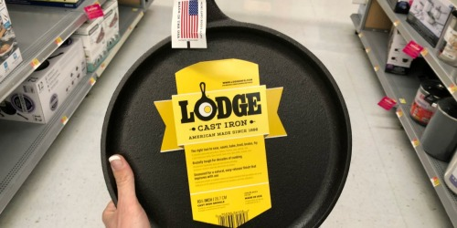 Lodge Seasoned Cast Iron Cookware 5-Piece Set Just $59.64 Shipped on Walmart.com (Regularly $80)