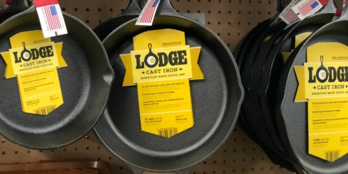 "Walmart.com: Lodge Logic 10.25"" Seasoned Cast Iron Skillet Only $12 (Regularly $27)"