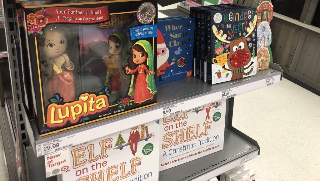 Lupita bilingual storybook at Target