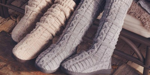 MUK LUKS Women's Boots as Low as $17.50 at Macy's