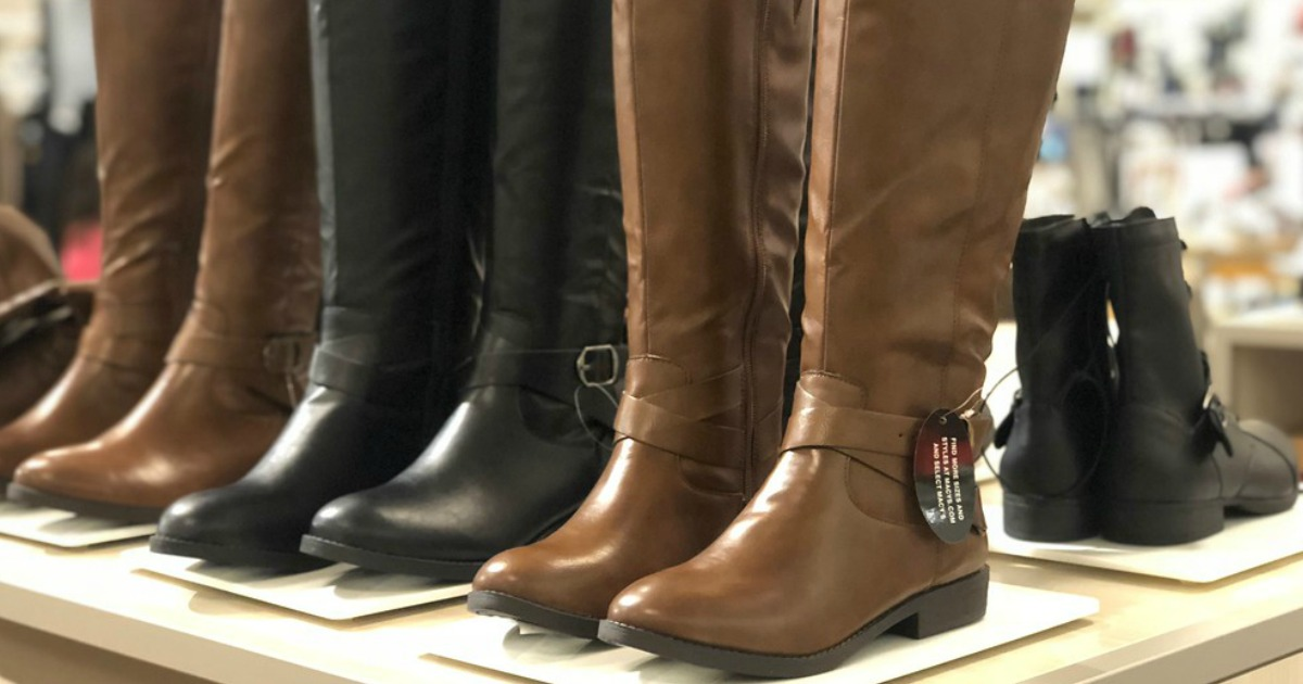 28fcd51fe94 Women s Boots Just  24.99 at Macy s (Regularly  50) - Hip2Save