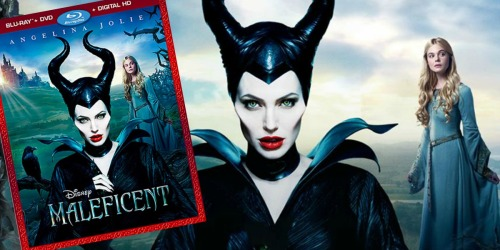 Maleficent Blu-ray/DVD/Digital HD Combo Only $6.25