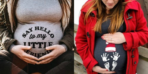 Adorable Maternity Tees as Low as $14.99 on Zulily (Regularly $30)