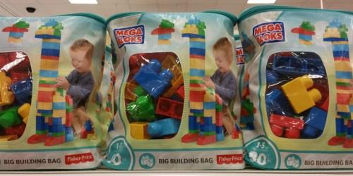 Mega Bloks 80-Piece Big Building Bag Only $7.49 (Regularly $25)
