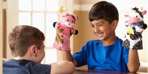 Amazon: Melissa & Doug Farm Friends Hand Puppets Set Only $10.83 Shipped (Regularly $20)