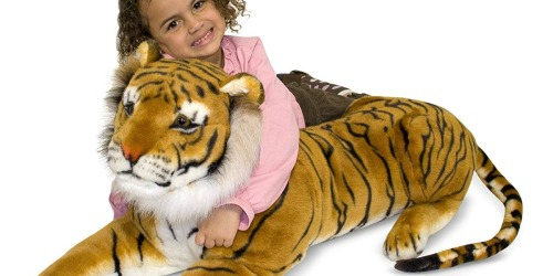 Amazon: Melissa & Doug Giant Tiger Plush Only $36.81 Shipped (Regularly $80)