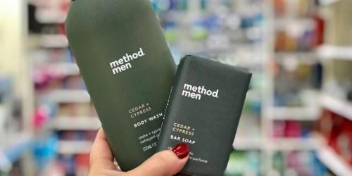 40% Off Method Men Bar Soap & Body Wash at Target