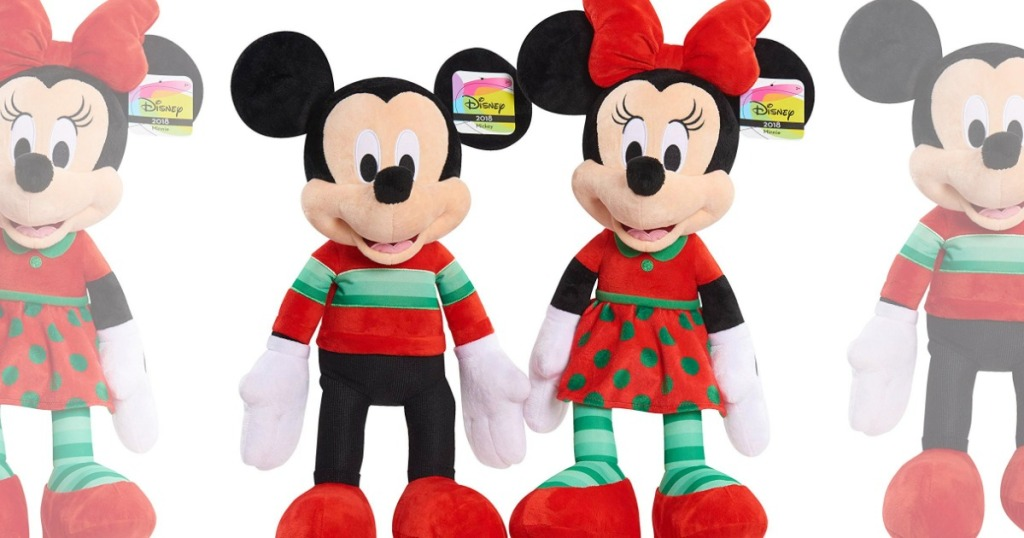 Disney Mickey Mouse Or Minnie Mouse Large Plush Only 5 W 50 Toy