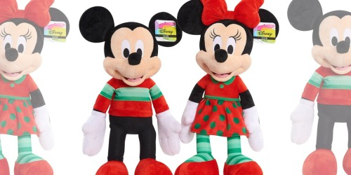 Disney Mickey Mouse or Minnie Mouse Large Plush Only $5 w/ $50 Toy Purchase at Amazon