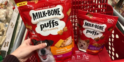 Milk-Bone Puffs Only $1.44 After Cash Back at Target (Just Use Your Phone)