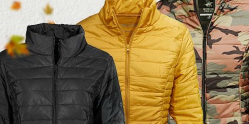 Women's Packable Puffer Coats Only $16.79 (Regularly $55) at Zulily