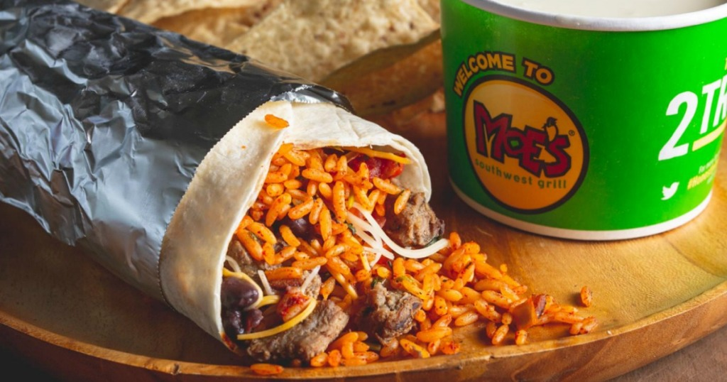 moe's southwest grill burrito