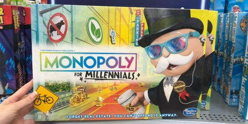 Monopoly for Millennials Board Game Just $7.50 (Regularly $20)