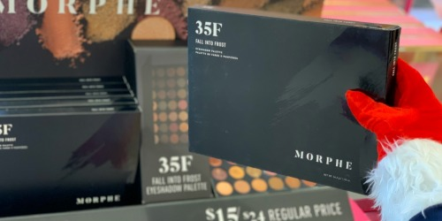 Morphe Fall into Frost Eyeshadow Palette Only $11.50 at Ulta Beauty (Regularly $24)