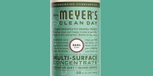 Amazon: Mrs. Meyer's Clean Day Multi-Surface Concentrate 2-Count as Low as $9.87 Shipped