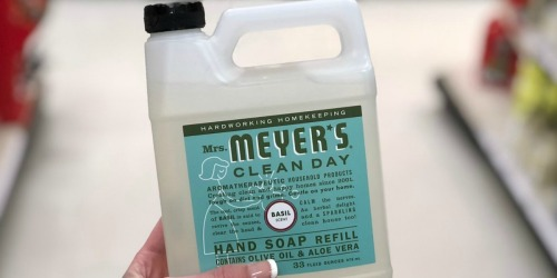 Amazon: Mrs. Meyer's 33-Ounce Liquid Hand Soap Refill ONLY $5.61 Shipped