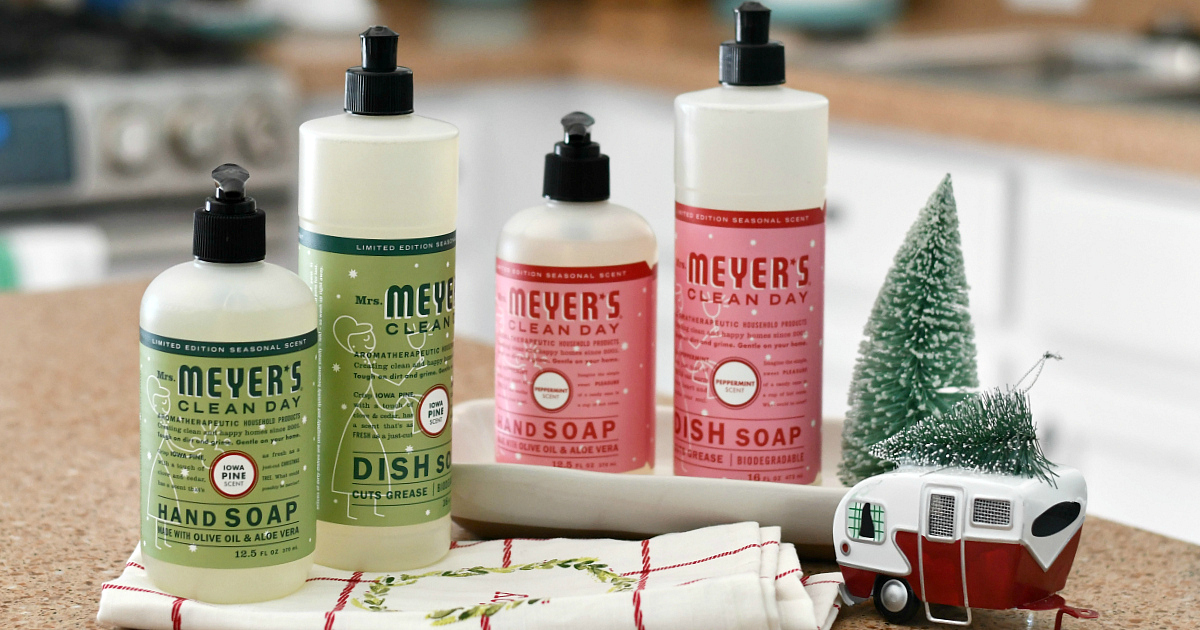Free Mrs Meyer S Holiday Gift Set W Purchase 33 Value
