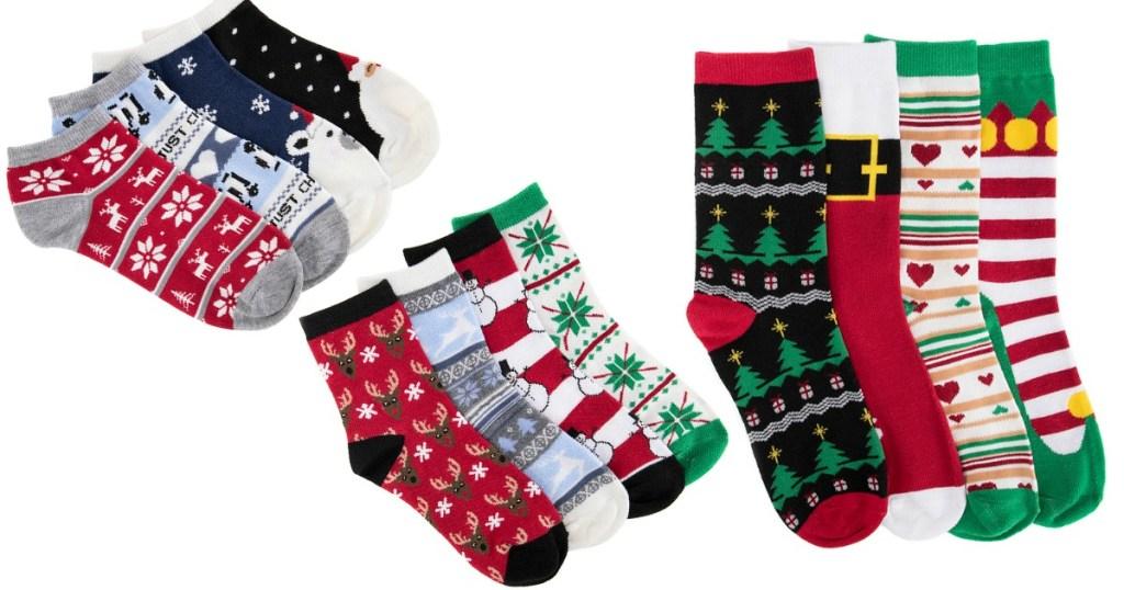 12 Days Of Christmas Socks.Pre Order Muk Luks 12 Days Of Christmas Socks Gift Set Just