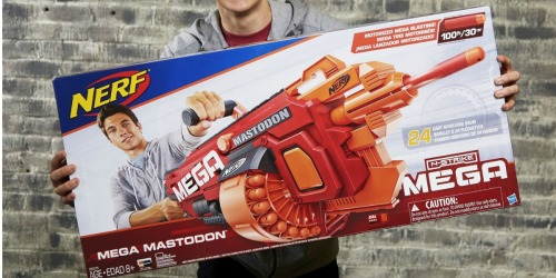 TWO Nerf N-Strike MEGA Blasters Only $50.98 Shipped (Just $25.49 Each) + More