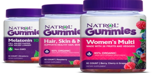 Free 90 Count Natrol Gummy Vitamins After Mail-In Rebate