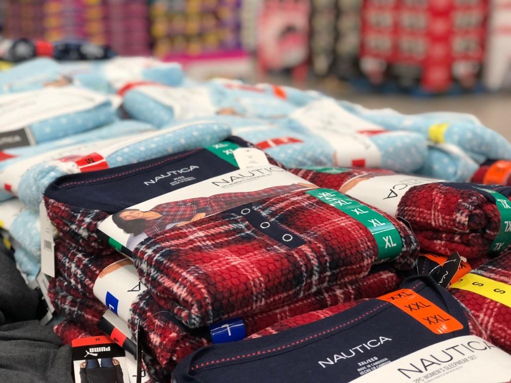 Nautica women's pajamas at Costco