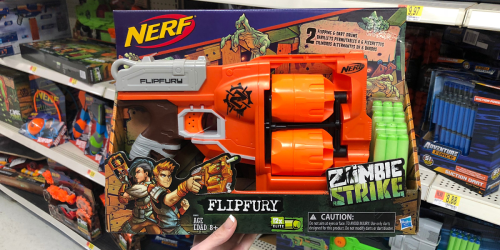 Nerf Zombie Strike FlipFury Gun Only $10 Shipped (Regularly $20)