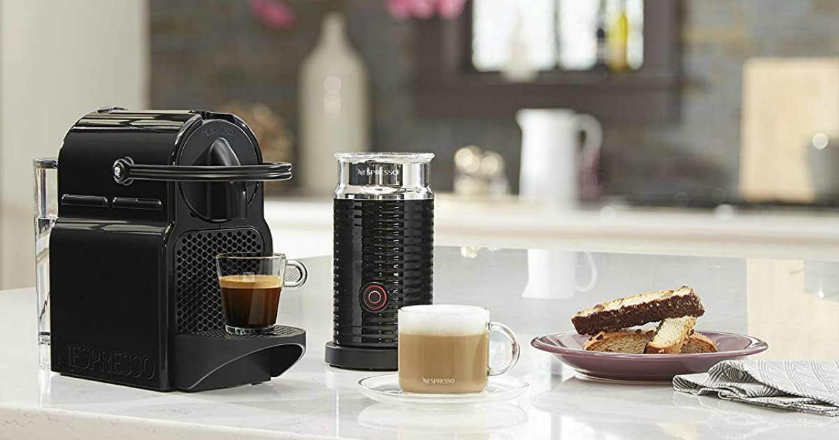 Nespresso Inissia Espresso Machine w/ Milk Frother Just $99.99 Shipped (Regularly $200)