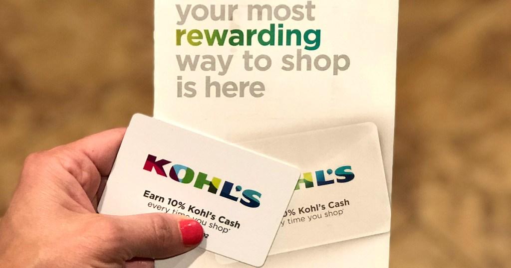 New Kohl's Rewards Program