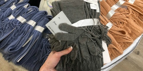 New York & Company Scarf AND Glove Gift Sets Only $3.99 Shipped (Regularly $23)
