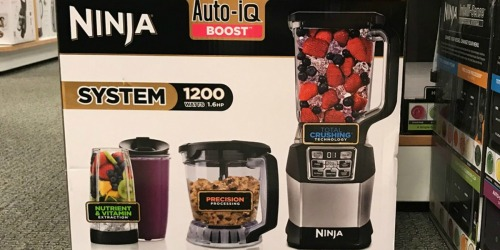 Kohl's: Ninja Kitchen System Only $110.49 Shipped + Earn $30 Kohl's Cash & More