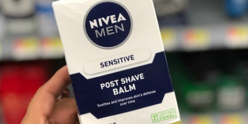 Nivea Men's Post Shave Balm 3-Pack Only $5.37 Shipped on Amazon